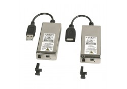 Fibre Optic USB 2.0 Extender, LC Multimode, 200m