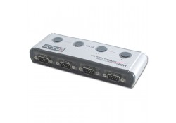 USB to 4 Port RS-232 Serial Converter, 4x DB9 Male
