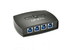 4 Port USB 3.0 Sharing Switch
