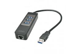 USB 3.1 / 3.0 Hub & Gigabit Ethernet Adapter