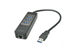 USB 3.1 / 3.0 Hub & Gigabit Ethernet Adapter