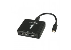USB 3.1 Type C To 2 x DisplayPort MST Hub
