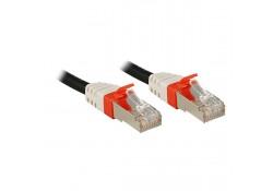 7.5m CAT6a S/FTP LS0H Gigabit Network Cable, Black