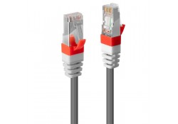 1m CAT.6A S/FTP LSZH Gigabit Network Cable, Grey