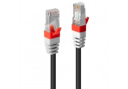 0.5m CAT.6A S/FTP LSZH Gigabit Network Cable Black