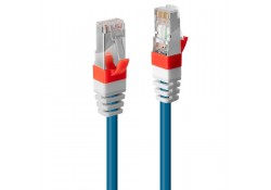 0.3m CAT.6A S/FTP LSZH Gigabit Network Cable, Blue