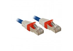 CAT6a SSTP LS0H Patch Cable, Blue, 3m