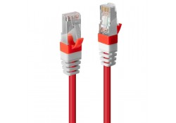 1m CAT.6A S/FTP LSZH Gigabit Network Cable, Red