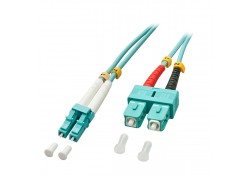 10m Fibre Optic Cable, LC-SC, 50/125μm OM3