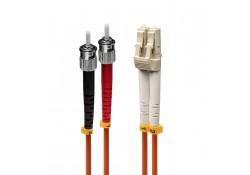 2m Fibre Optic Cable, LC-ST, 50/125μm OM2