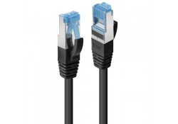 1m CAT6A S/FTP LSZH Network Cable, Black