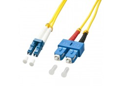 1m Fibre Optic Cable, LC-SC, 9/125μm OS2