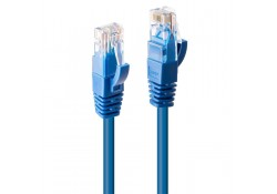 0.3m CAT6 U/UTP Gigabit Network Cable, Blue