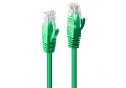 0.3m CAT6 U/UTP Gigabit Network Cable, Green