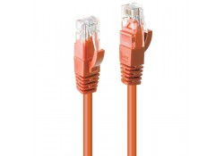 1m CAT6 U/UTP Gigabit Network Cable, Orange