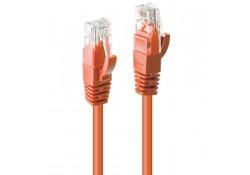 5m CAT6 U/UTP Gigabit Network Cable, Orange