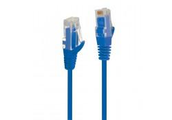 0.25m CAT.6 Ultra Slim Patch Cable, Blue