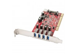 4 Port USB 3.0 PCI Card