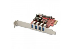 4 Port USB 3.0 PCIe Card