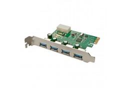 4 Port USB 3.0 PCIe Card