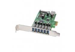 6 Port USB 3.0 PCIe Card