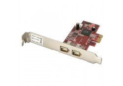 2 Port FireWire PCIe Card with TI Chipset