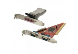 2 Port RS-232 & 1 Port Parallel Combo PCI Card