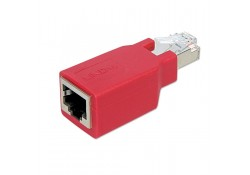 RJ-45 CAT5e Crossover Adapter