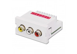 Composite Video & Stereo Audio Snap-In Extender