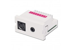 S-Video & 3.5mm Stereo Audio Snap-In Extender Pack