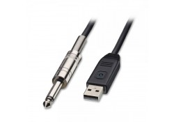 USB to Guitar Cable, 5m