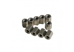 Hex Nut for D-conn. Screw Post, 10-pack