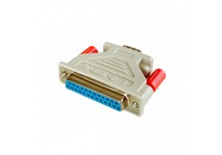 Serial Adapter DB25F/DB9M