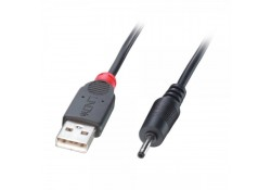 1.5m USB to DC Cable, 0.7mm Inner / 2.5mm Outer