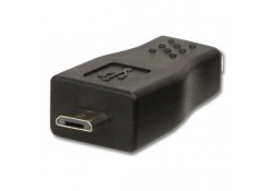USB Adapter, Type Mini-B Female to Micro-B Male