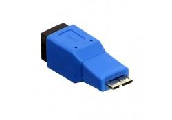 USB 3.0 Adapter, Type B Female / Micro-B Male
