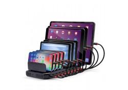 10 Port USB Charging Station For Tablets
